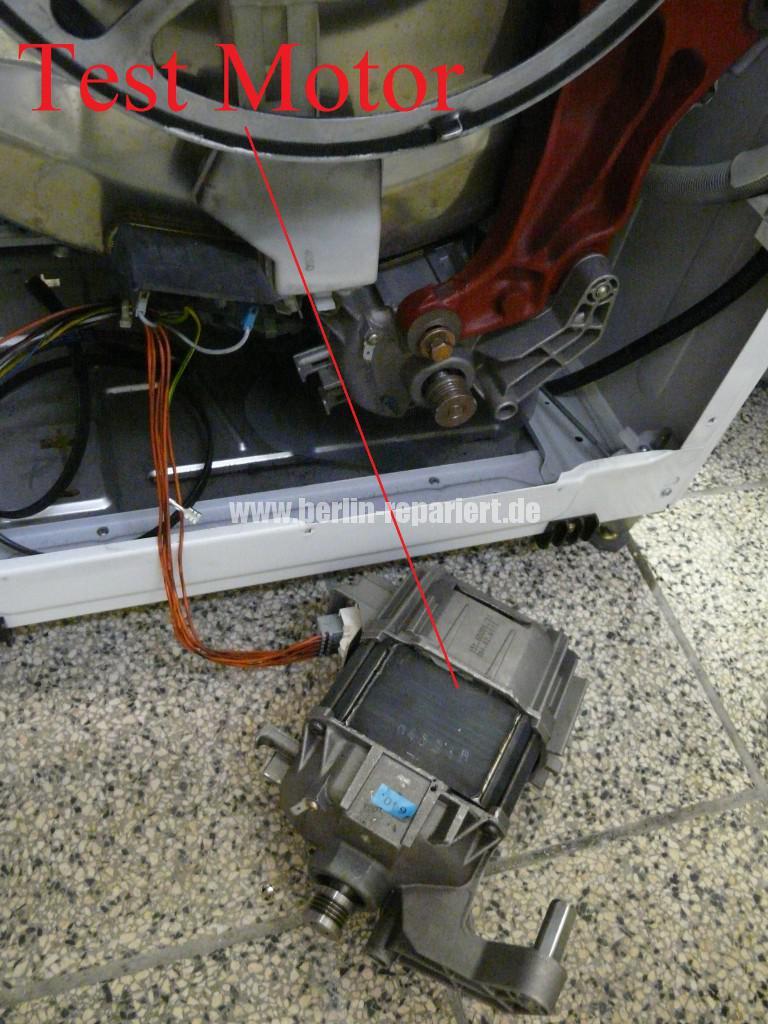 Siemens Siwamat 6102, Motor dreht schwer (6)