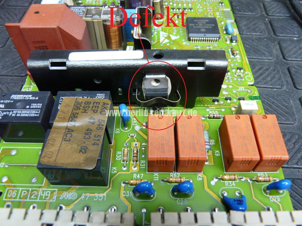 Siemens Siwamat 6102, Motor dreht schwer (8)