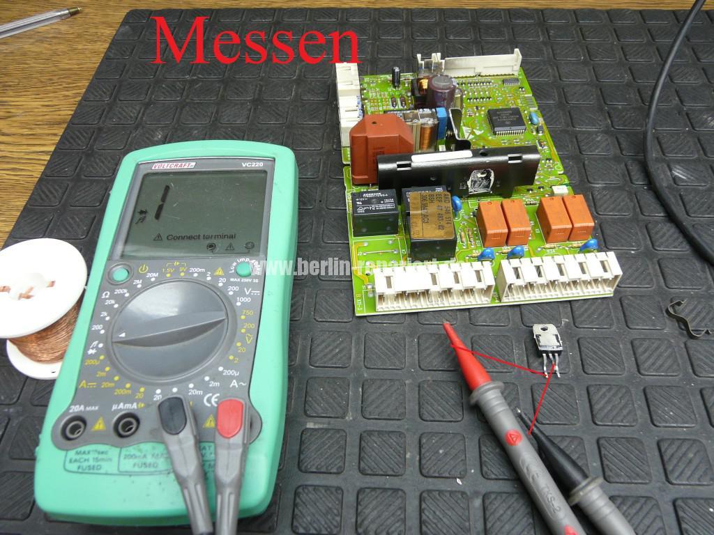 Siemens Siwamat 6102, Motor dreht schwer (9)
