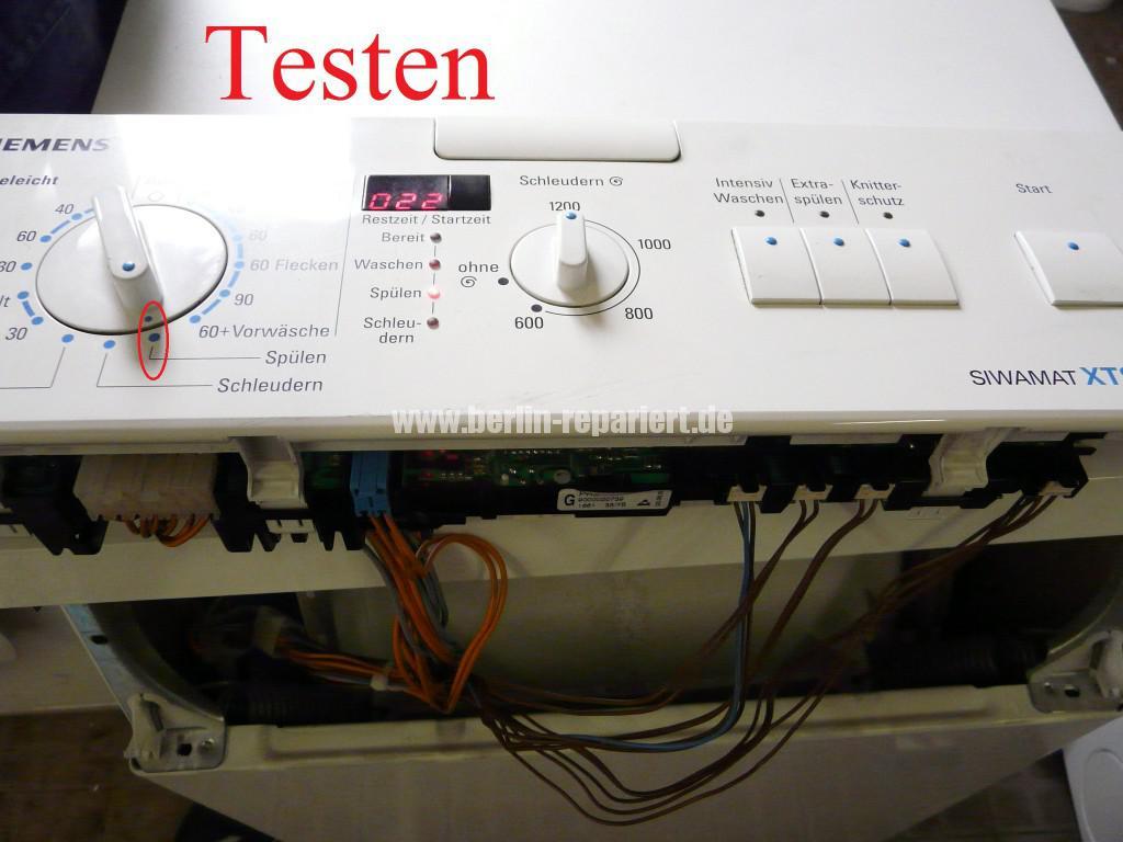 Siemens WXTS 1230, zieht kein Wasser (9)