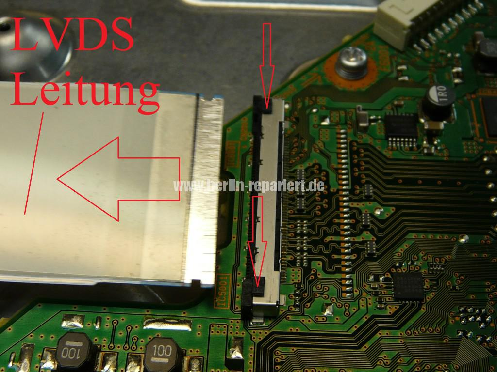 Sony KDL46HX755, geht Aus und Blinkt (6)