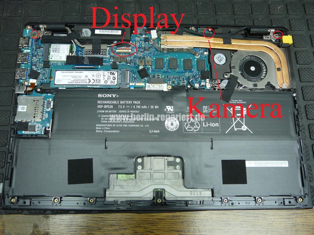 Sony SVP132, Display zu teuer, umbau (2)
