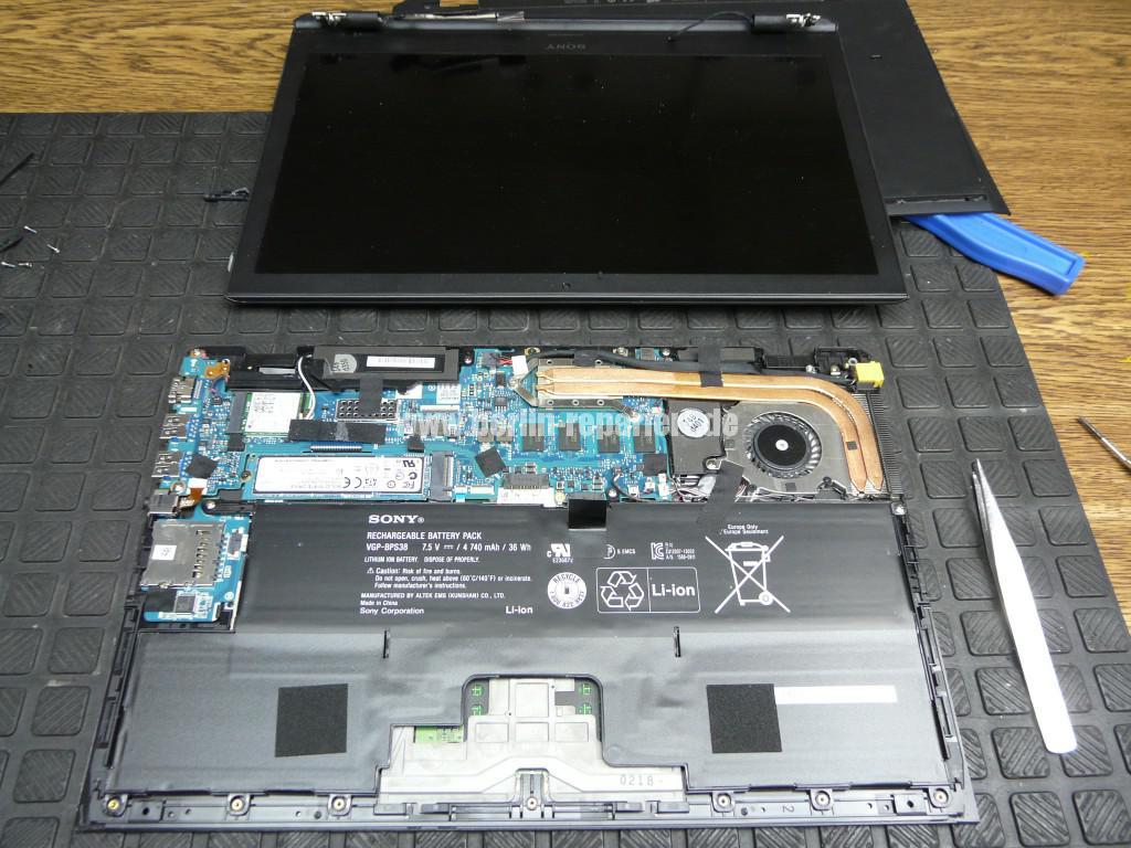 Sony SVP132, Display zu teuer, umbau (6)