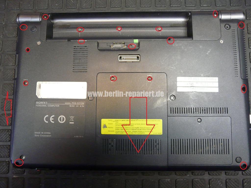 Sony Vaio VPCS13V9E, Lüfter brummt(12)