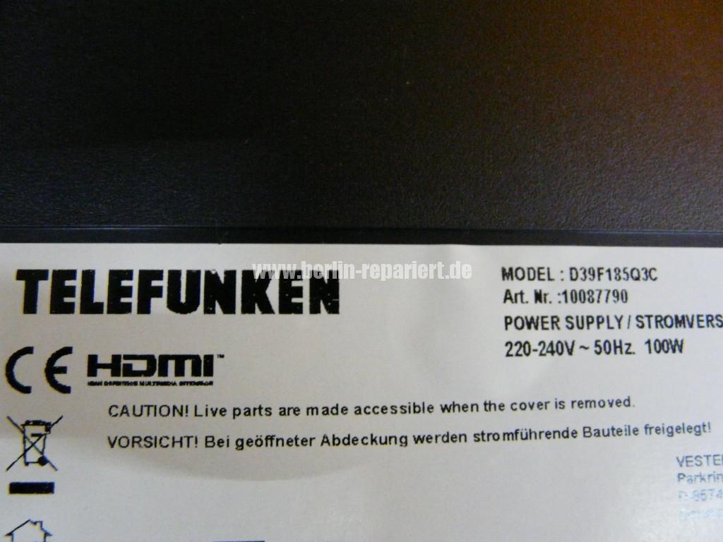 Telefunken Qualität D39F185Q3C, keine Funktion (12)