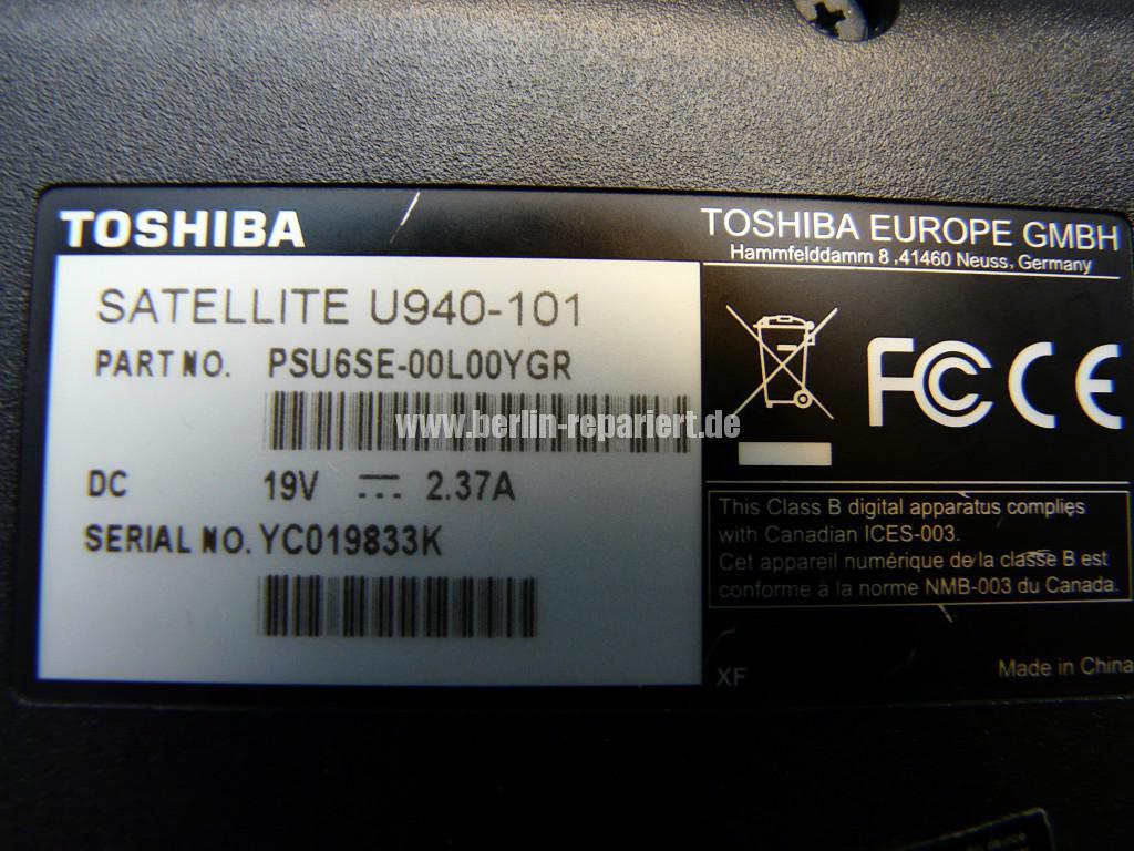 Toshiba Satellite U940, Bild sehr dunkel (10)