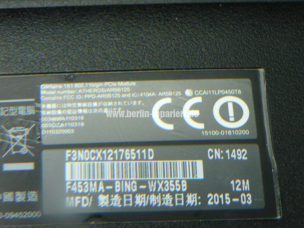 ASUS F453A, keine Funktion (11)