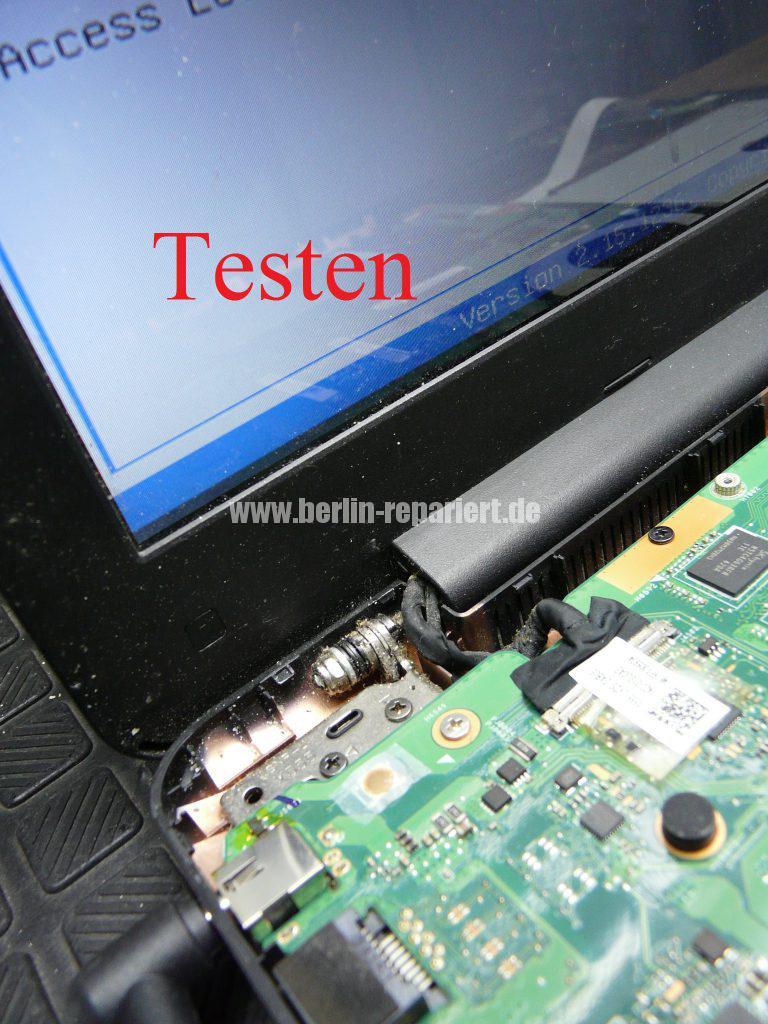 ASUS F555, geht schwer an, Power Taste defekt (13)