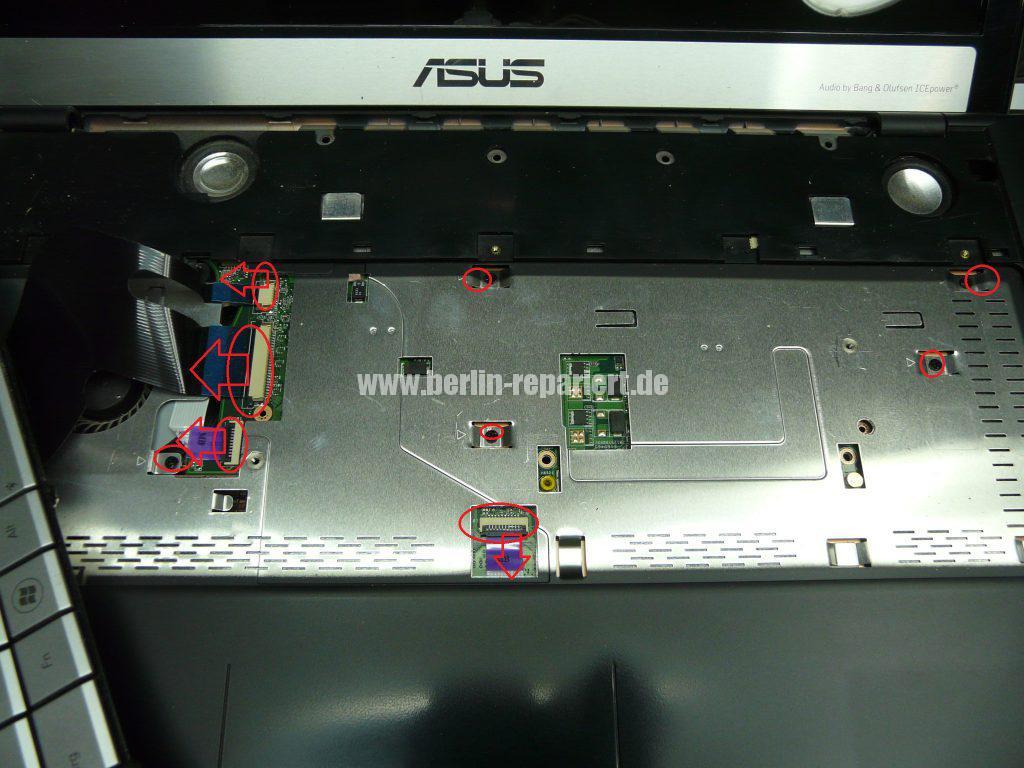 ASUS N75S, geht nicht an, Netzbuchse defekt (7)