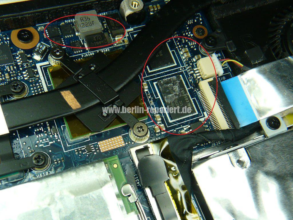 ASUS UX32VD, Flüßigkeitschaden (3)