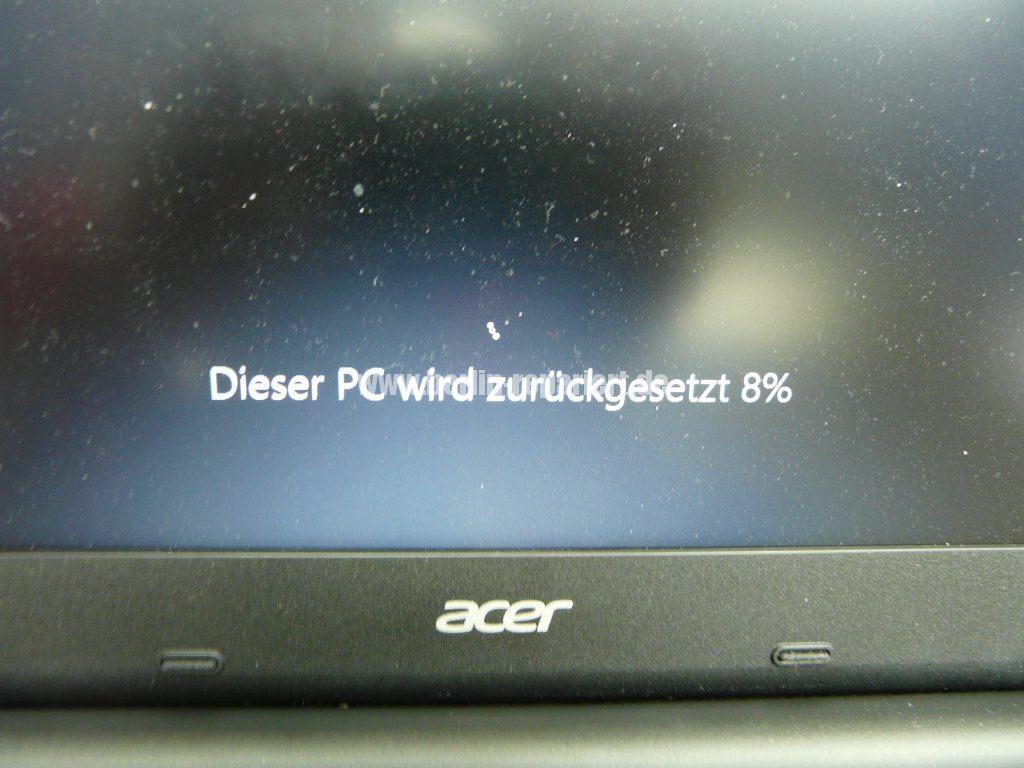 Acer E 15, Taskleiste Flackert (3)