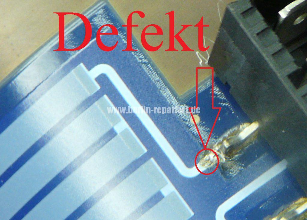 Bosch Siemens Pumpenheizung, Heizung defekt (2)