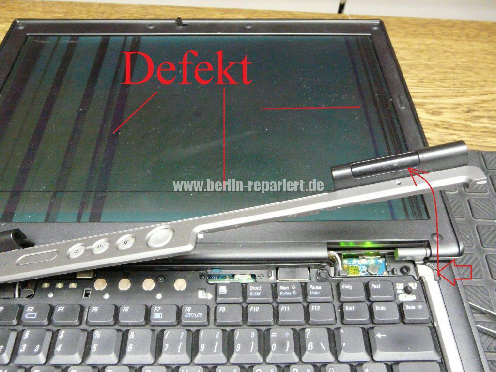 Dell Latitude D620, Displayeinheit tauschen (2)