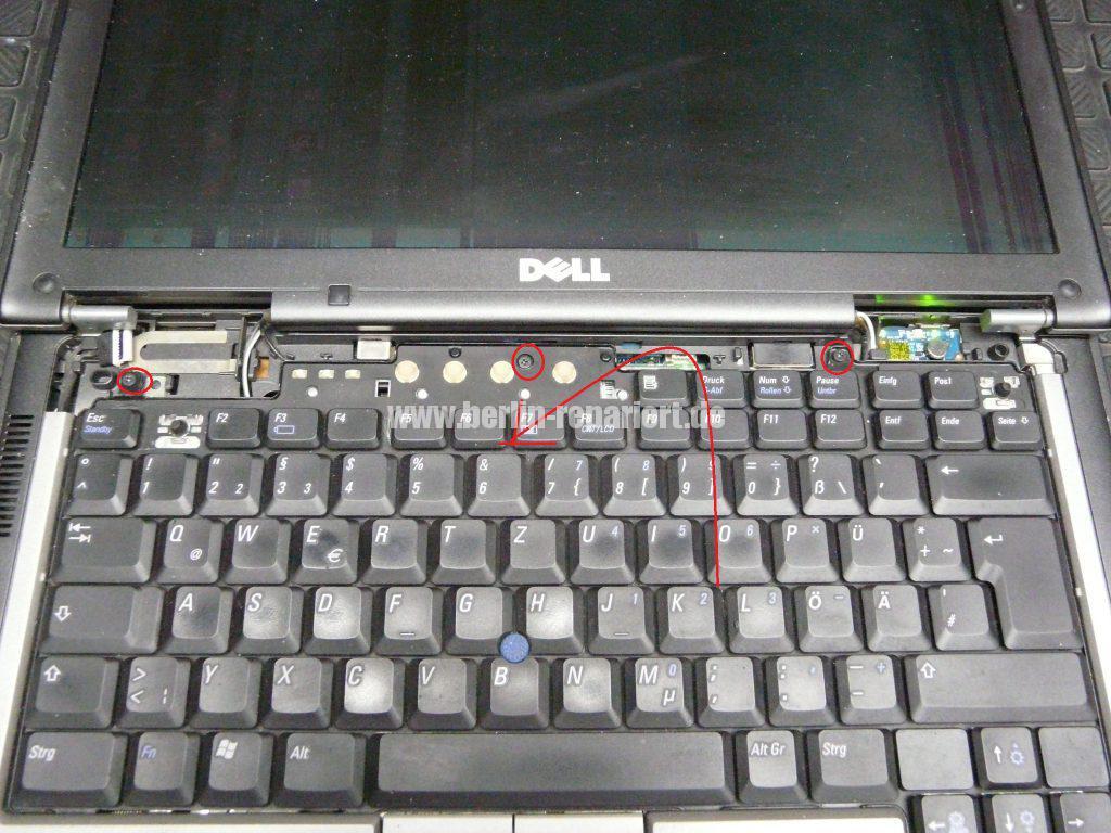 Dell Latitude D620, Displayeinheit tauschen (3)