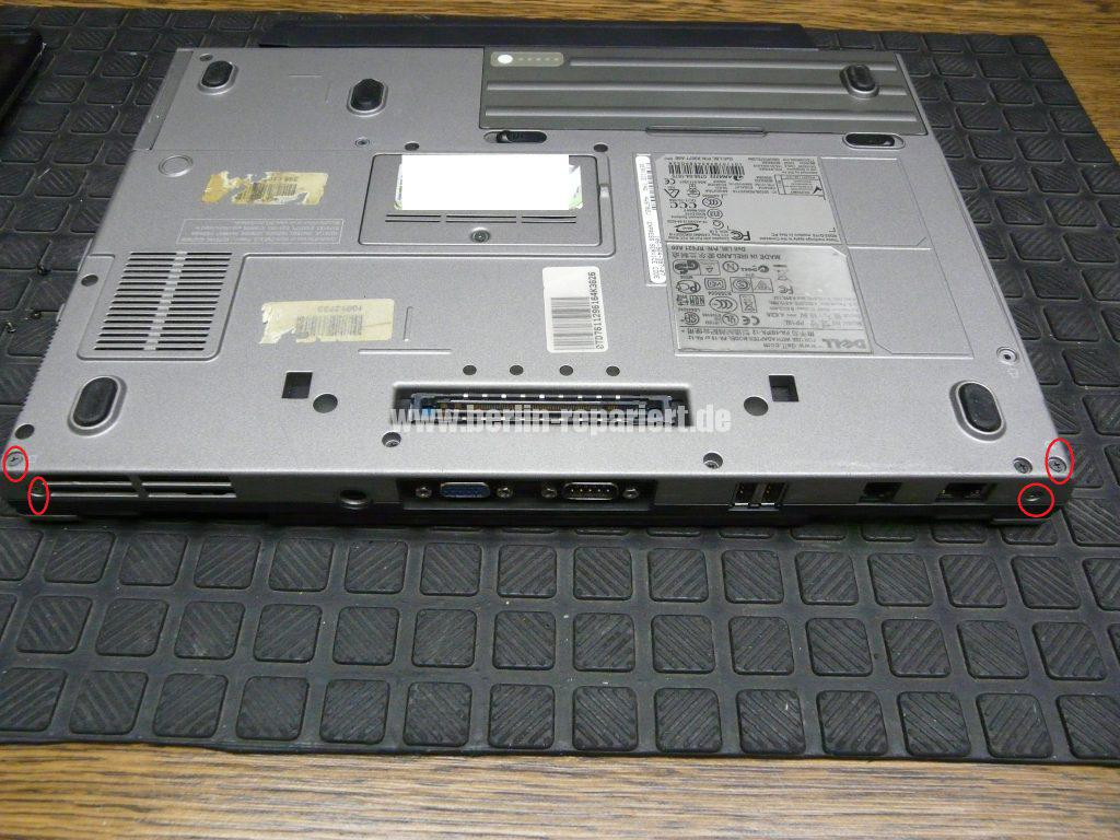Dell Latitude D620, Displayeinheit tauschen (4)