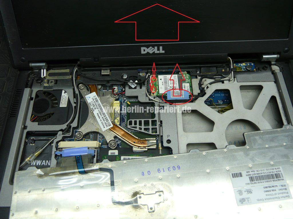 Dell Latitude D620, Displayeinheit tauschen (5)