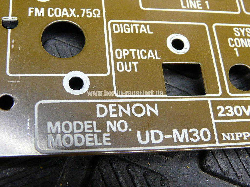 Denon UD-M30, keine Funktion (9)
