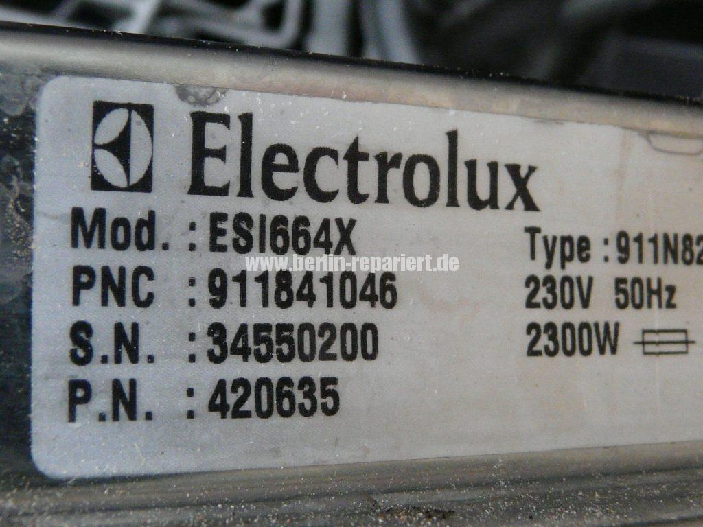 Elektrolux ESI446X, Programmwahlschalter Defekt (5)