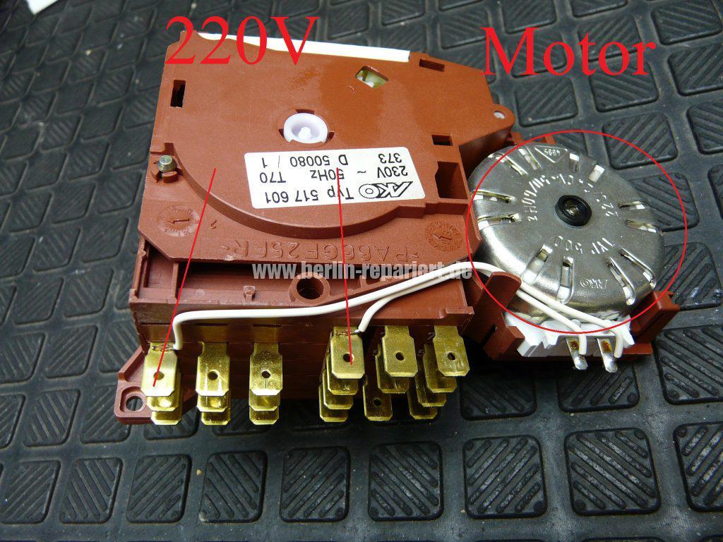 Elektrolux ESI446X, Programmwahlschalter Defekt (6)