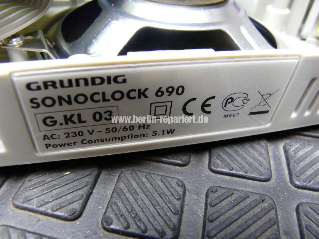Grundig Sonoclock 690, klopf empfindlich (6)