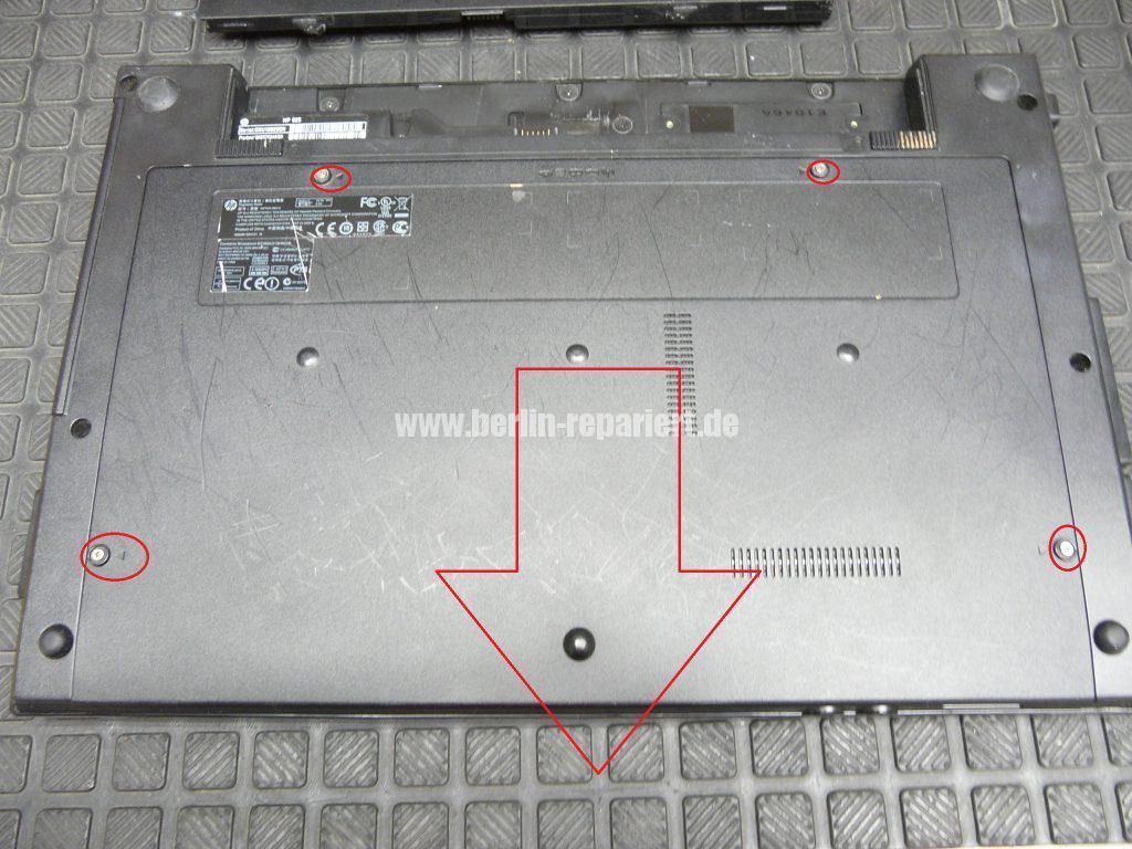 HP 625, Netzbuchse defekt (3)