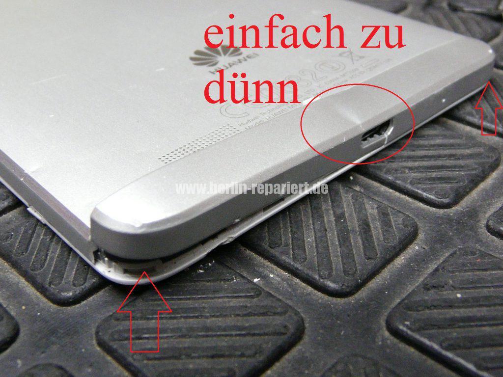 Huawei MT7 Mate7, Display defekt (3)