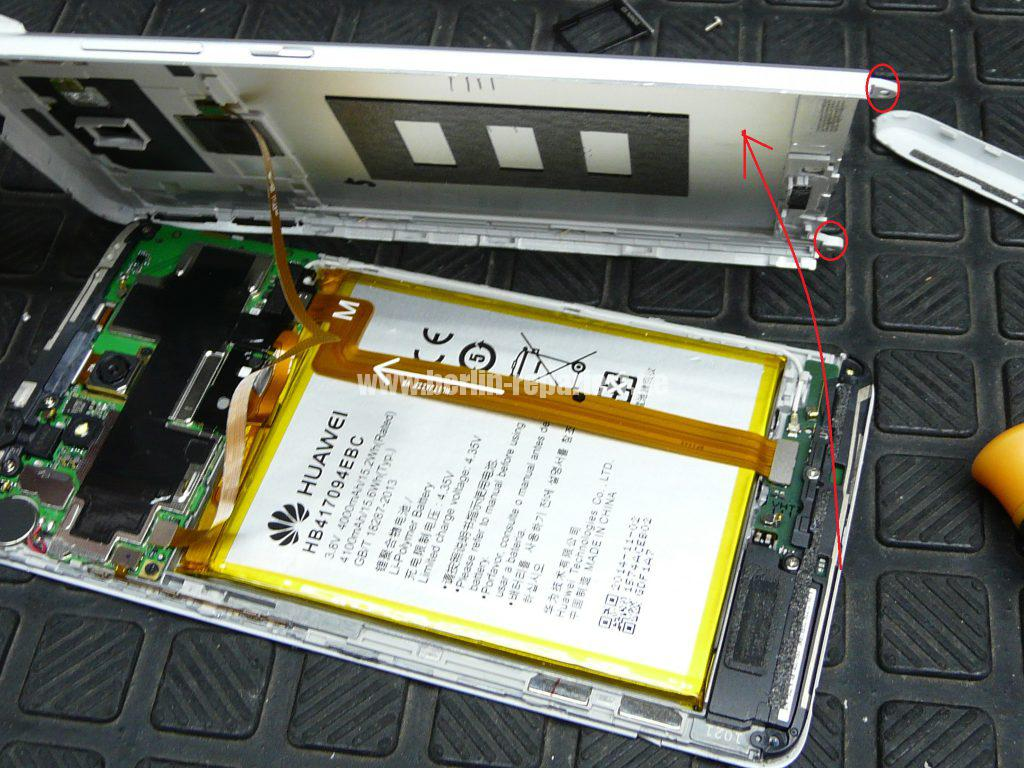 Huawei MT7 Mate7, Display defekt (4)