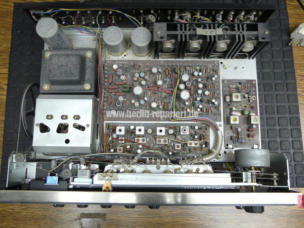 Kenwood KR-5150, Skalenlampen durchgebrannt (5)