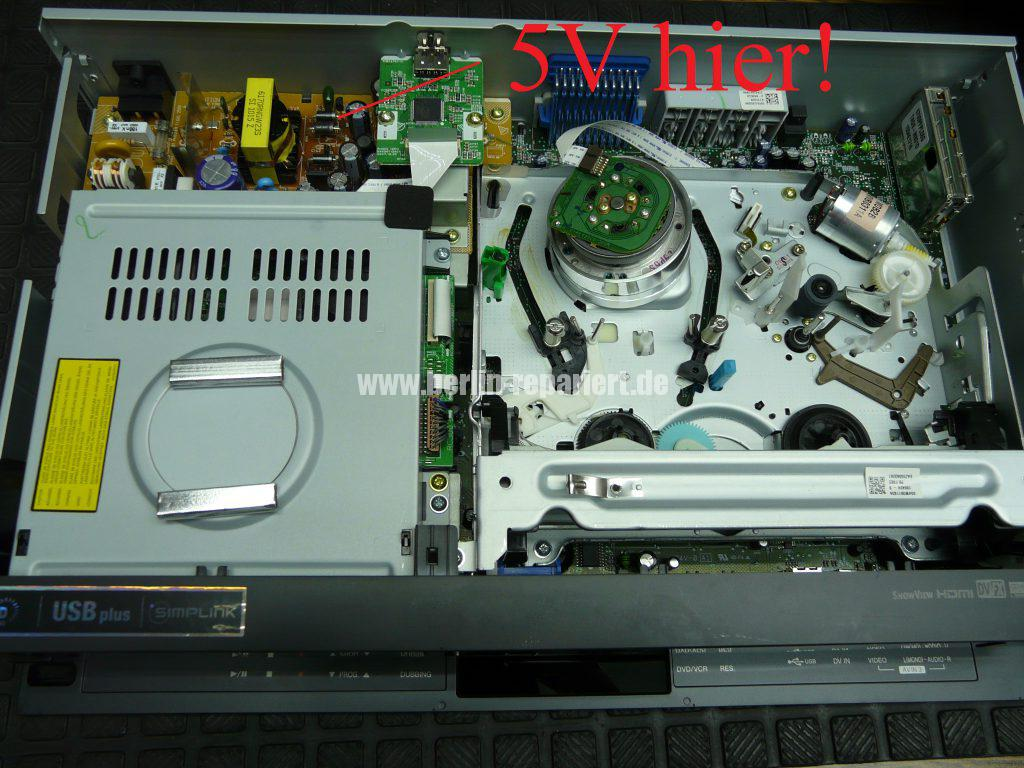 LG RC389H, zeigt nur Hello in Display an (2)