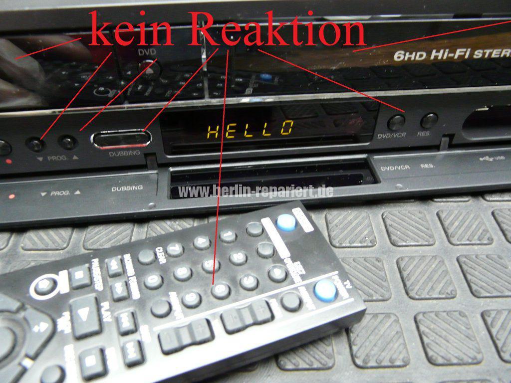 LG RC389H, zeigt nur Hello in Display an (5)
