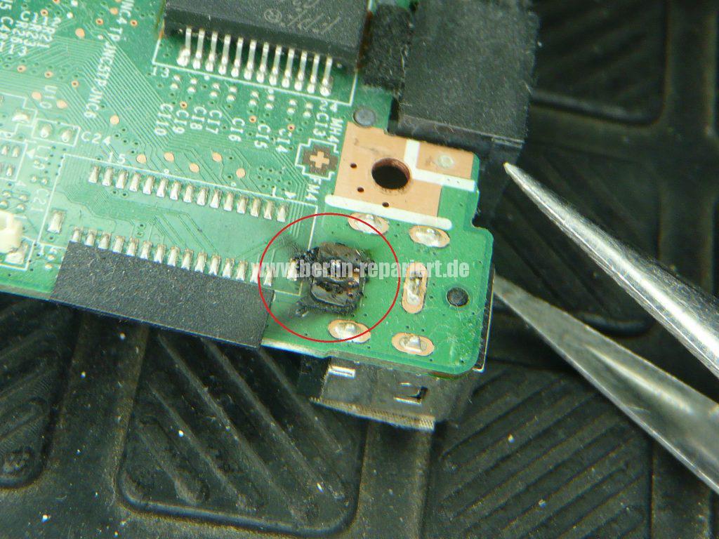 Medion Erazer X6819, Netzbuchse durchgebrannt (16)
