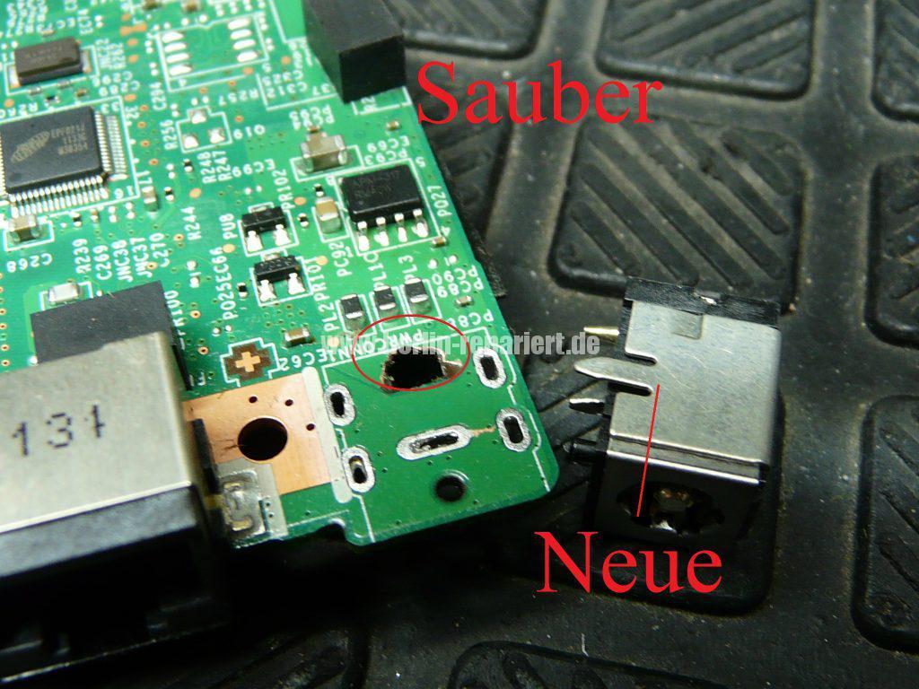 Medion Erazer X6819, Netzbuchse durchgebrannt (20)
