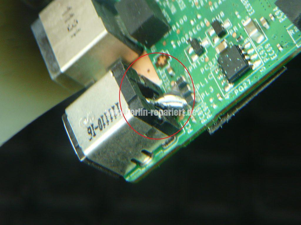 Medion Erazer X6819, Netzbuchse durchgebrannt (22)