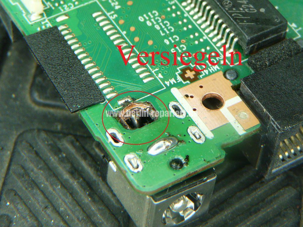 Medion Erazer X6819, Netzbuchse durchgebrannt (23)