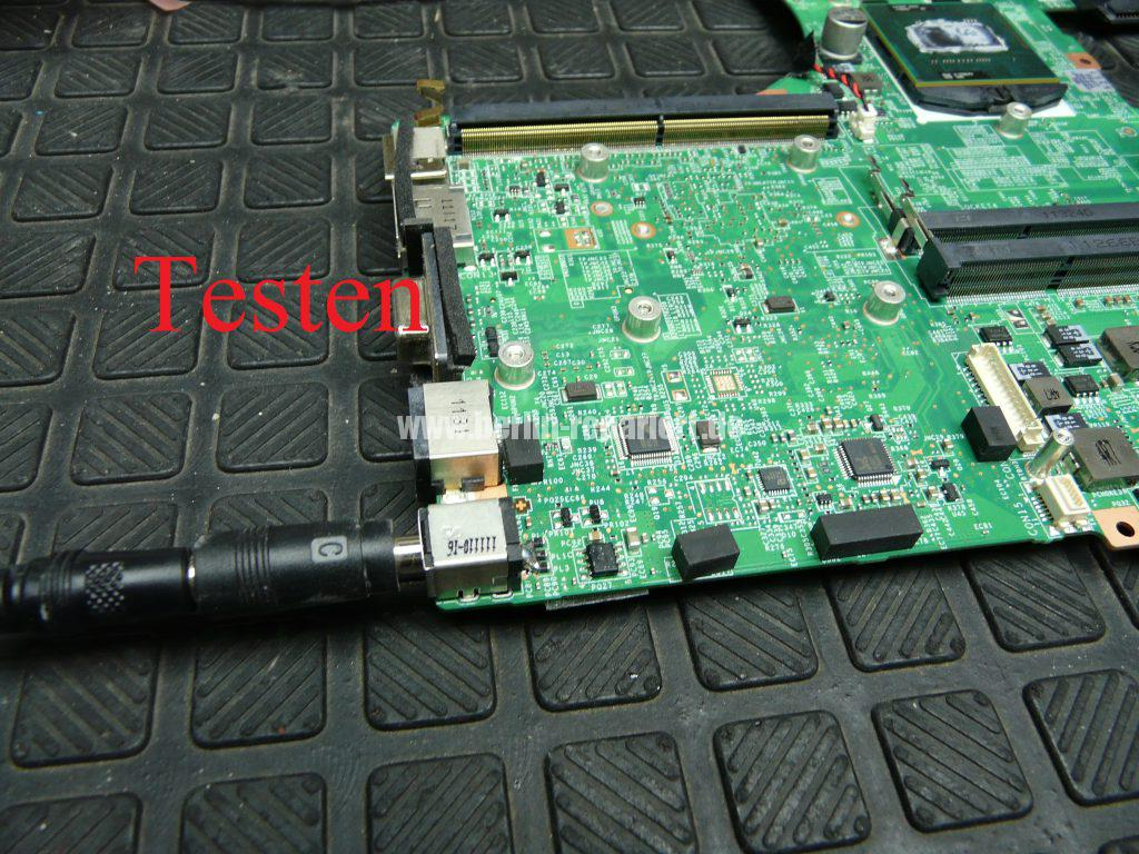 Medion Erazer X6819, Netzbuchse durchgebrannt (24)