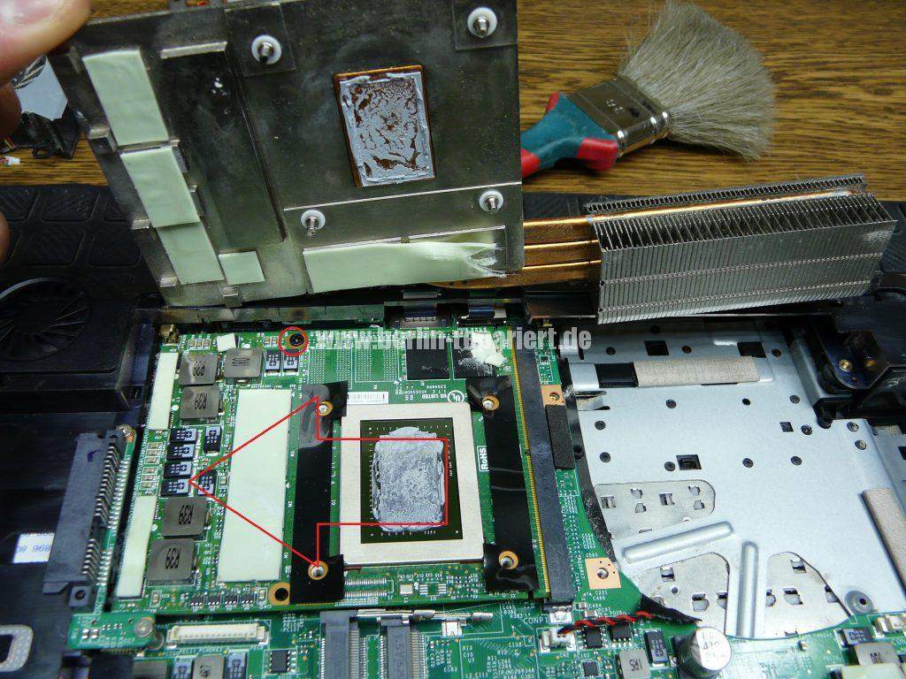 Medion Erazer X6819, Netzbuchse durchgebrannt (5)