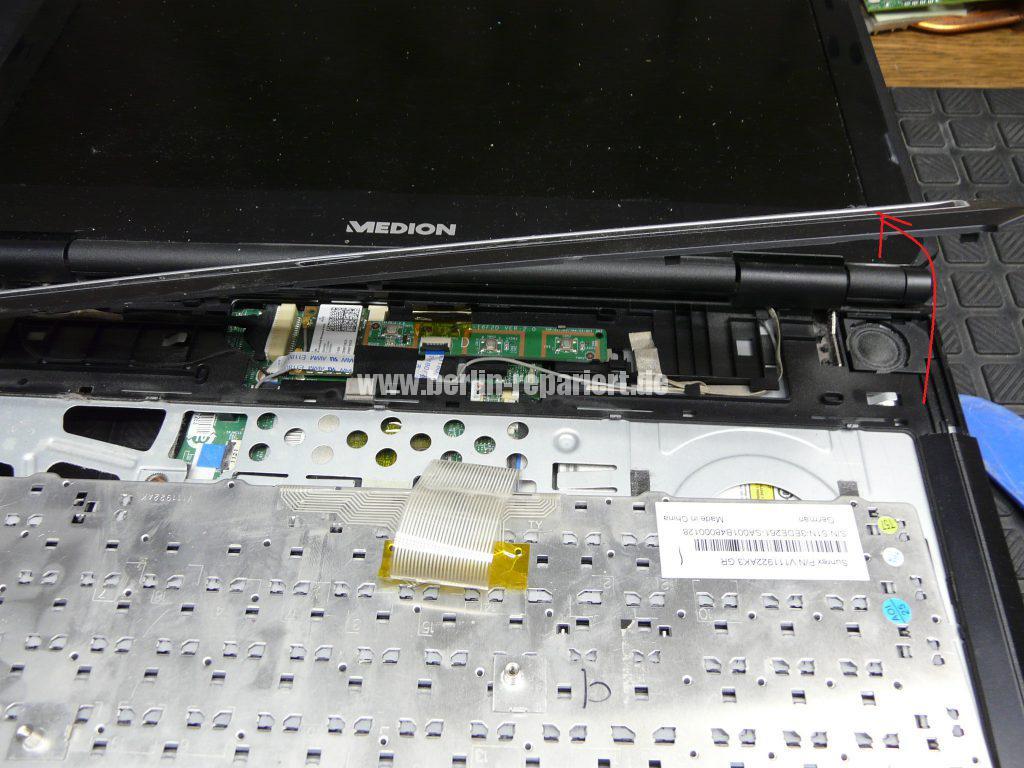 Medion Erazer X6819, Netzbuchse durchgebrannt (8)