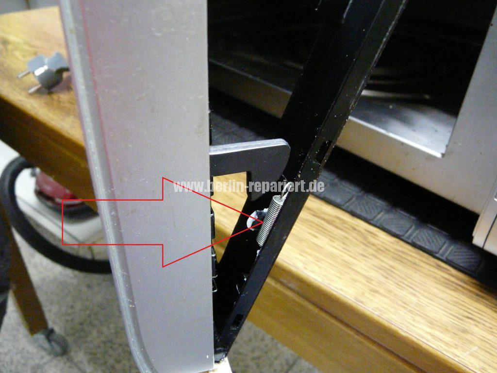 Panasonic NN-A524, Tür Verriegelung defekt (4)