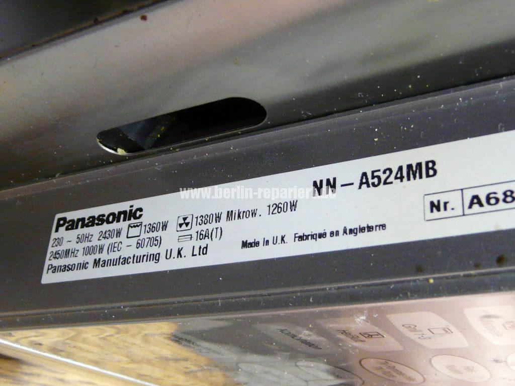 Panasonic NN-A524, Tür Verriegelung defekt (7)