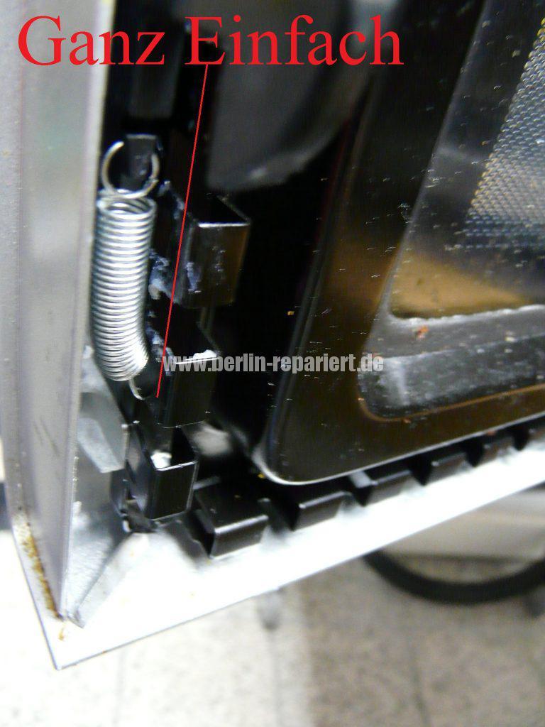 Panasonic NN-A524, Tür Verriegelung defekt (8)