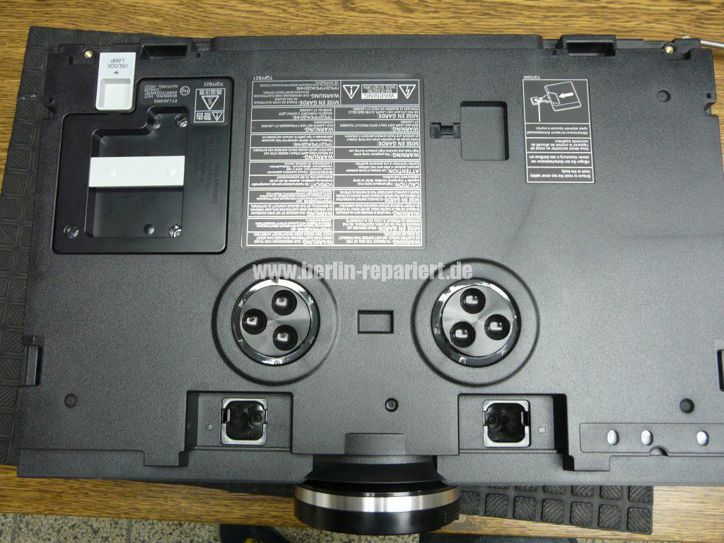 Panasonic PT-AE4000 Punkten in Bild, Reinigen (4)