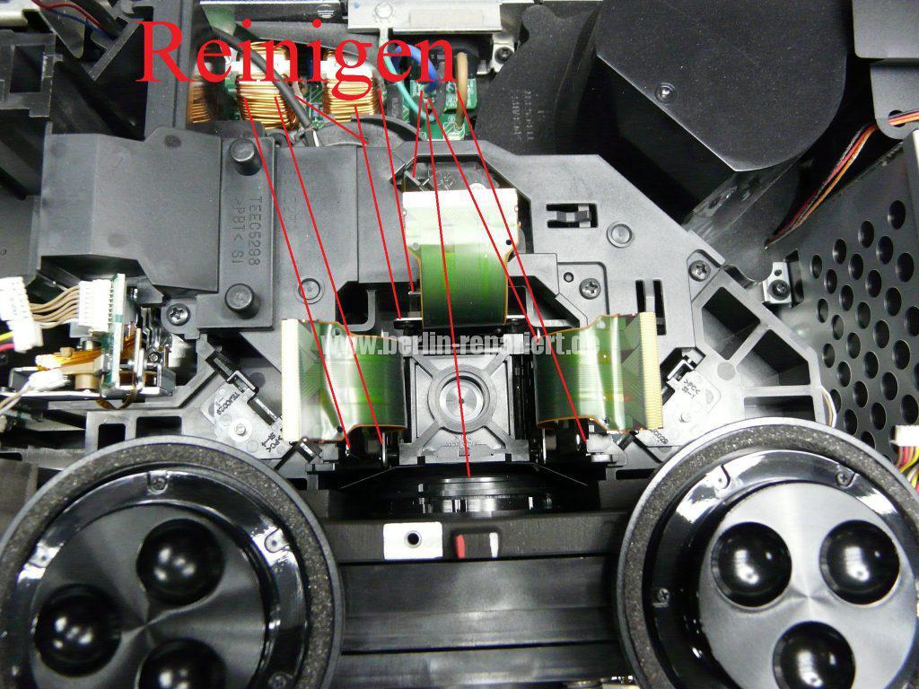 Panasonic PT-AE4000 Punkten in Bild, Reinigen (7)