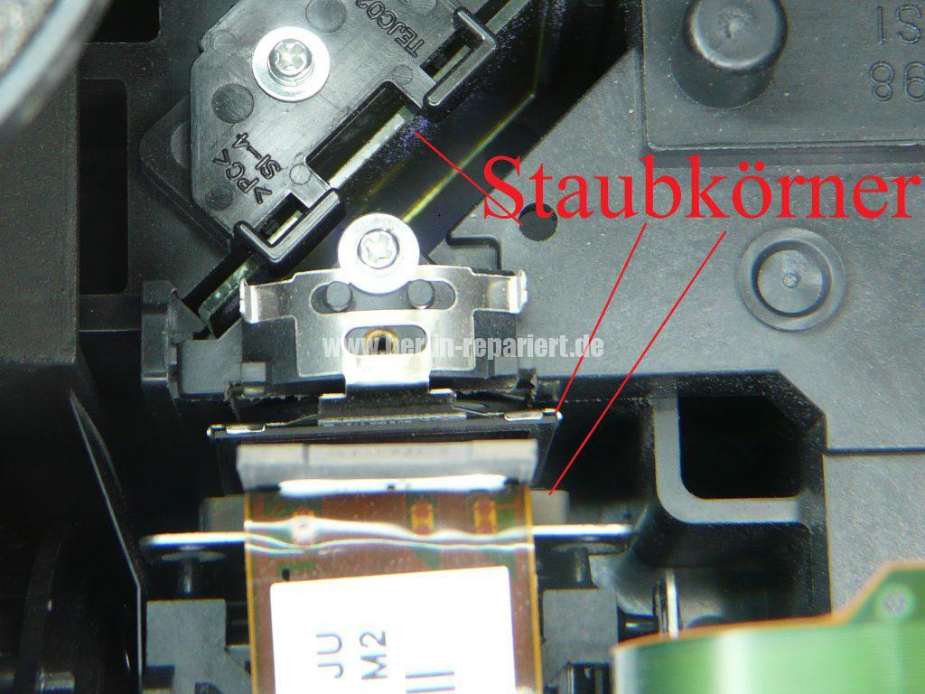 Panasonic PT-AE4000 Punkten in Bild, Reinigen (8)