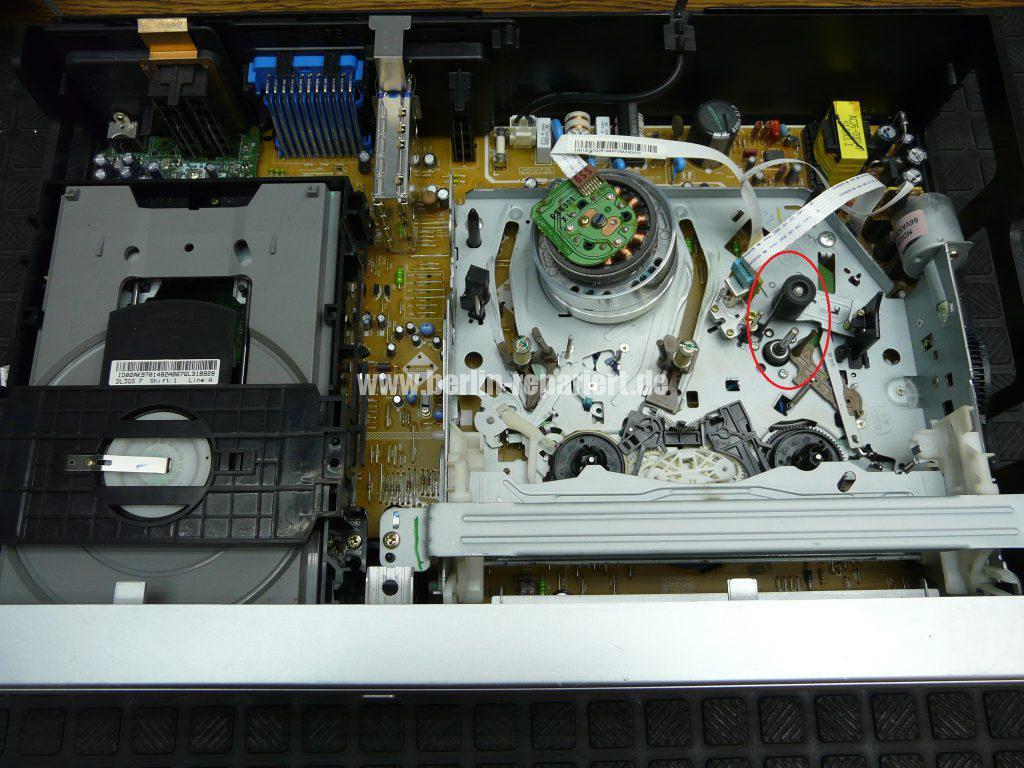 Samsung DVD-V5600, VHS Bild mit steifen (2)