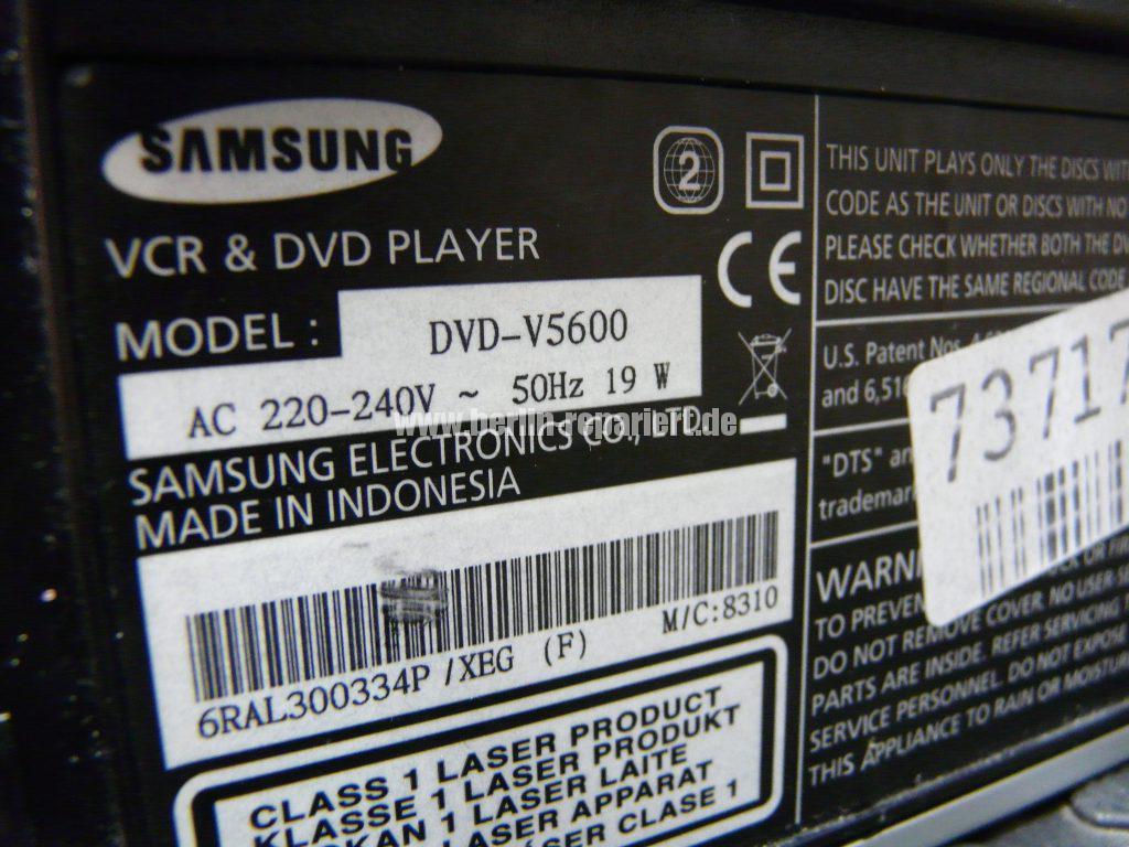Samsung DVD-V5600, VHS Bild mit steifen (7)