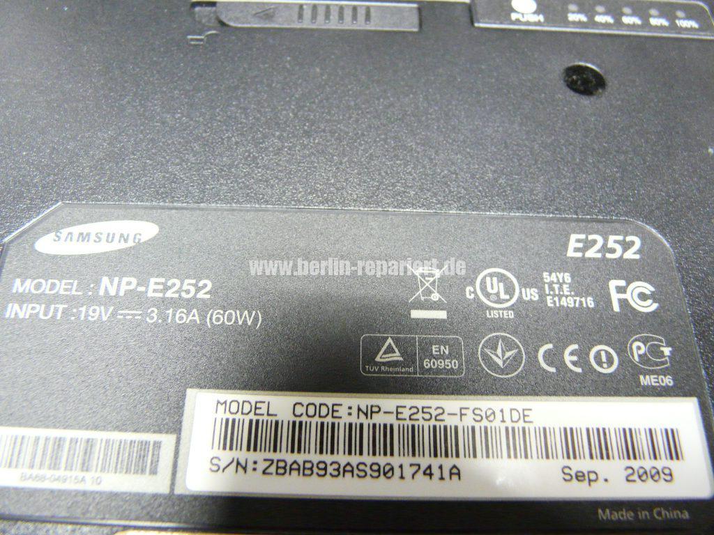 Samsung E252, kein Bild (8)