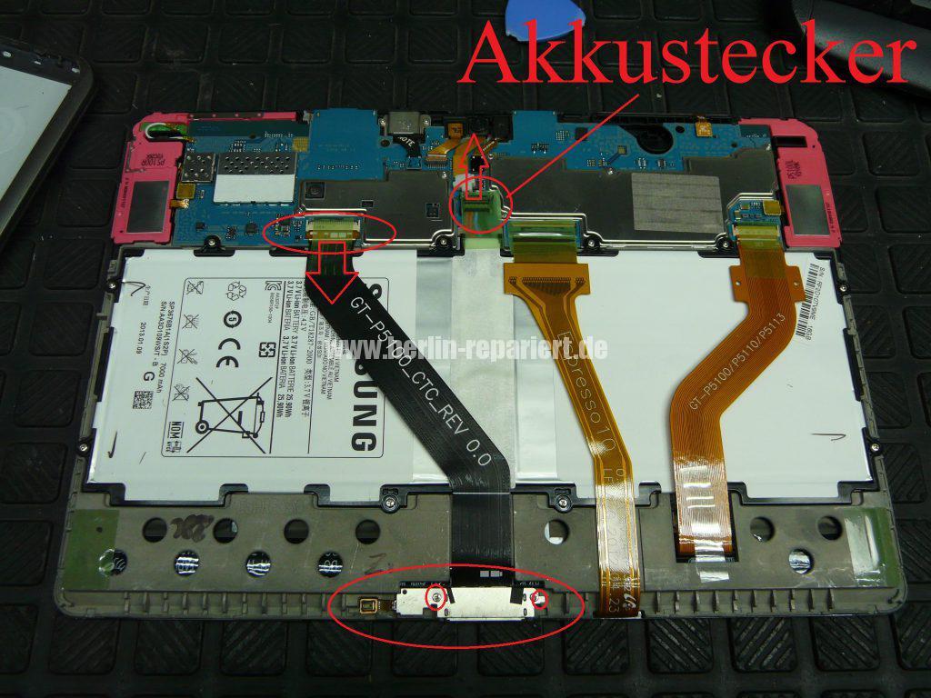 Samsung Galaxy GT-P5110, Netzbuchse defekt (5)