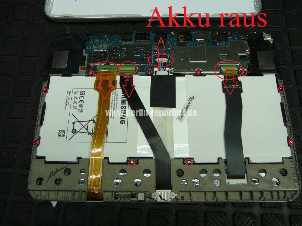 Samsung Galaxy TAB 3, Akku schnell lehr (3)