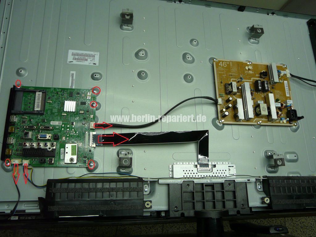 Samsung Tunebuchse abgebrochen, Tuner austauschen (3)