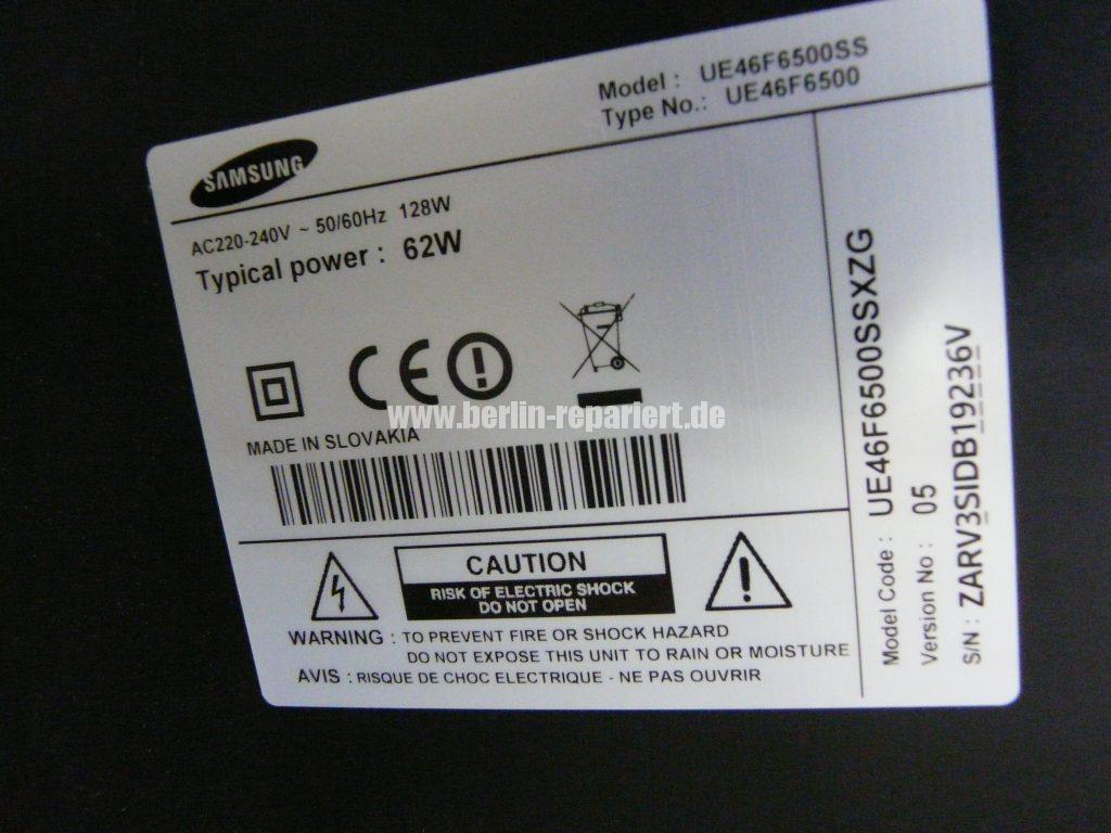 Samsung UE46F6500, Empfang geht weg (12)